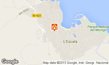 Mapa L'escala Apartamentos 70957