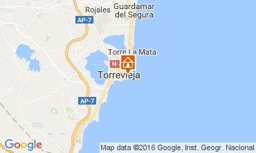Mapa Torrevieja Apartamentos 91265