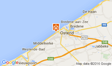 Mapa Ostende Apartamentos 104009