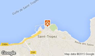 Mapa Saint Tropez Casa 5673