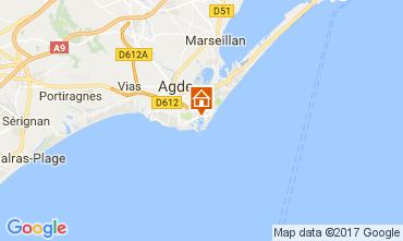 Mapa Cap d'Agde Vivenda 112310