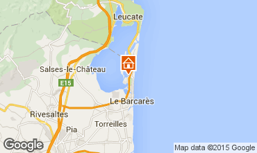 Mapa Port Barcares Vivenda 6351