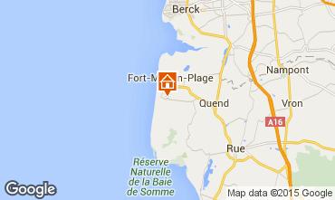 Mapa Quend Praia Mobil Home 67961