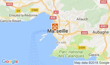 Mapa Marselha Apartamentos 115437