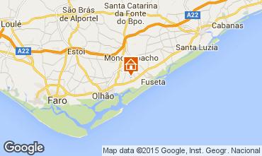 Mapa Olhão Casa de turismo rural/Casa de campo 72885