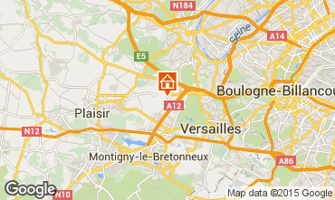 Mapa Versailles Casa de turismo rural/Casa de campo 15412