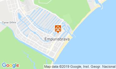 Mapa Empuriabrava Apartamentos 118477