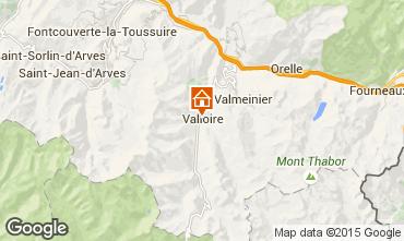 Mapa Valloire Apartamentos 83091