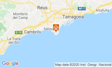Mapa Tarragona Apartamentos 119603