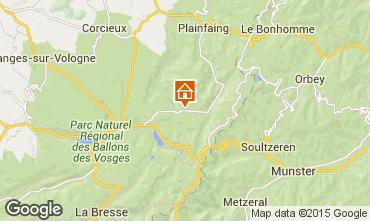 Mapa Gérardmer Chalé 4581