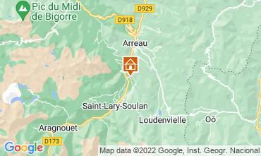 Mapa Saint Lary Soulan Apartamentos 4408