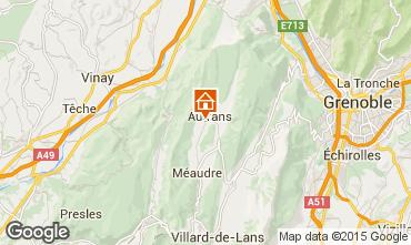 Mapa Autrans Casa de turismo rural/Casa de campo 71676