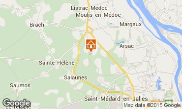 Mapa Bordéus Casa 76715