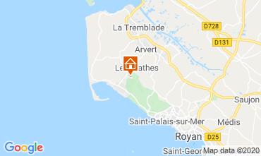 Mapa La Palmyre Mobil Home 50799