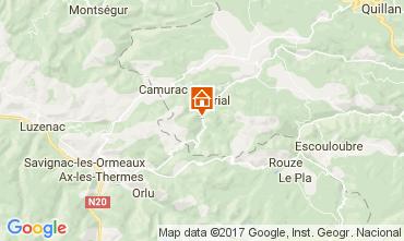 Mapa Camurac Casa de turismo rural/Casa de campo 95876