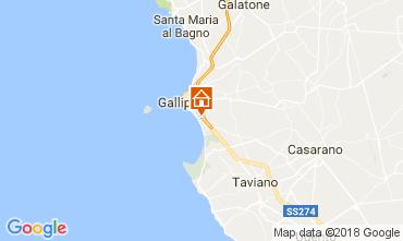 Mapa Gallipoli Apartamentos 108516