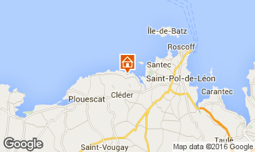 Mapa Roscoff Vivenda 82006