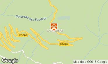 Mapa La Rosière 1850 Estúdio 2476