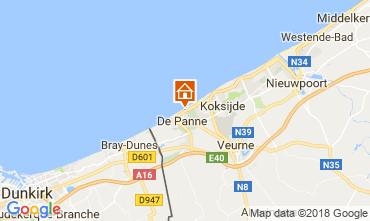 Mapa La Panne Apartamentos 115178