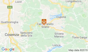 Mapa Camigliatello silano Chalé 51597
