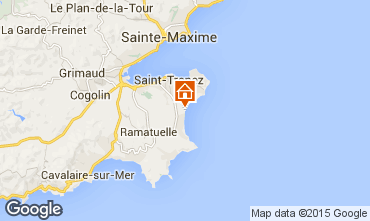 Mapa Saint Tropez Mobil Home 80923
