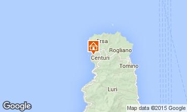 Mapa Centuri Casa de turismo rural/Casa de campo 68607