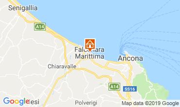 Mapa Falconara Marittima Apartamentos 117905