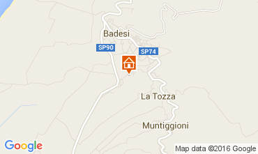 Mapa Badesi Apartamentos 80778
