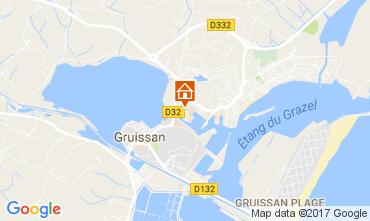 Mapa Gruissan Apartamentos 110897