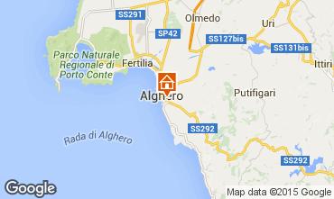 Mapa Alghero Apartamentos 69224