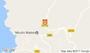 Mapa Centuri Casa de turismo rural/Casa de campo 108083