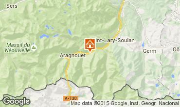 Mapa Saint Lary Soulan Casa de turismo rural/Casa de campo 67181