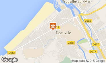 Mapa Deauville Apartamentos 97350
