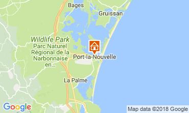 Mapa Port La Nouvelle Apartamentos 115682