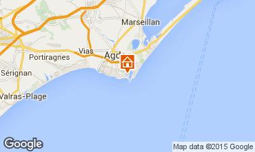 Mapa Cap d'Agde Apartamentos 69587
