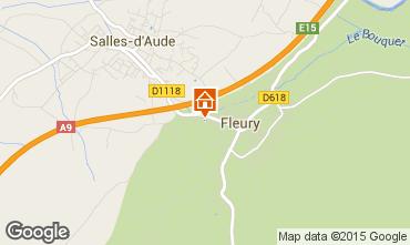 Mapa Fleury d'Aude Apartamentos 10504