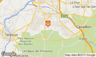 Mapa Saint Rémy de Provence Casa 60699