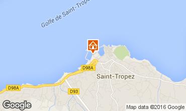 Mapa Saint Tropez Apartamentos 93969