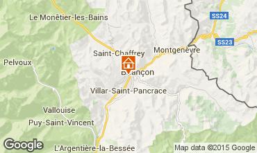 Mapa Briançon Estúdio 82889