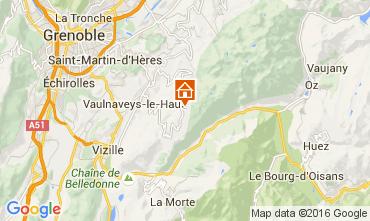 Mapa Chamrousse Est�dio 104419