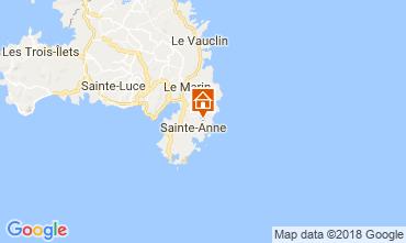Mapa Sainte Anne (Martinique) Vivenda 88363