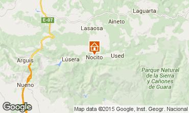 Mapa Aínsa Casa de turismo rural/Casa de campo 15760