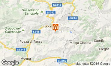 Mapa Canazei - Belvedere Apartamentos 45784