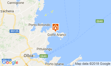 Mapa Golfo Aranci Apartamentos 115434