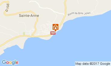 Mapa Sainte Anne (Guadalupe) Apartamentos 108495