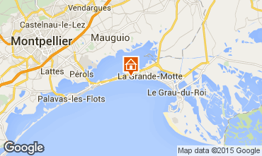 Mapa La Grande Motte Apartamentos 93299
