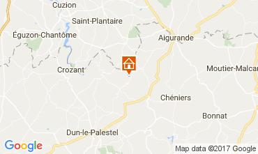 Mapa La Souterraine Casa 107716