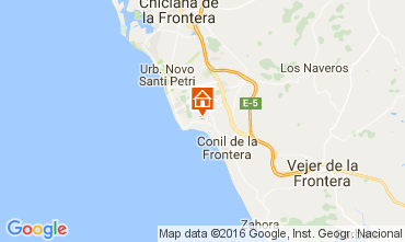 Mapa Conil de la Frontera Chalé 103983