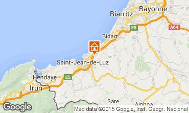 Mapa Saint Jean de Luz Apartamentos 97030