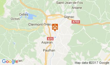 Mapa Clermont l'Hérault Vivenda 108631